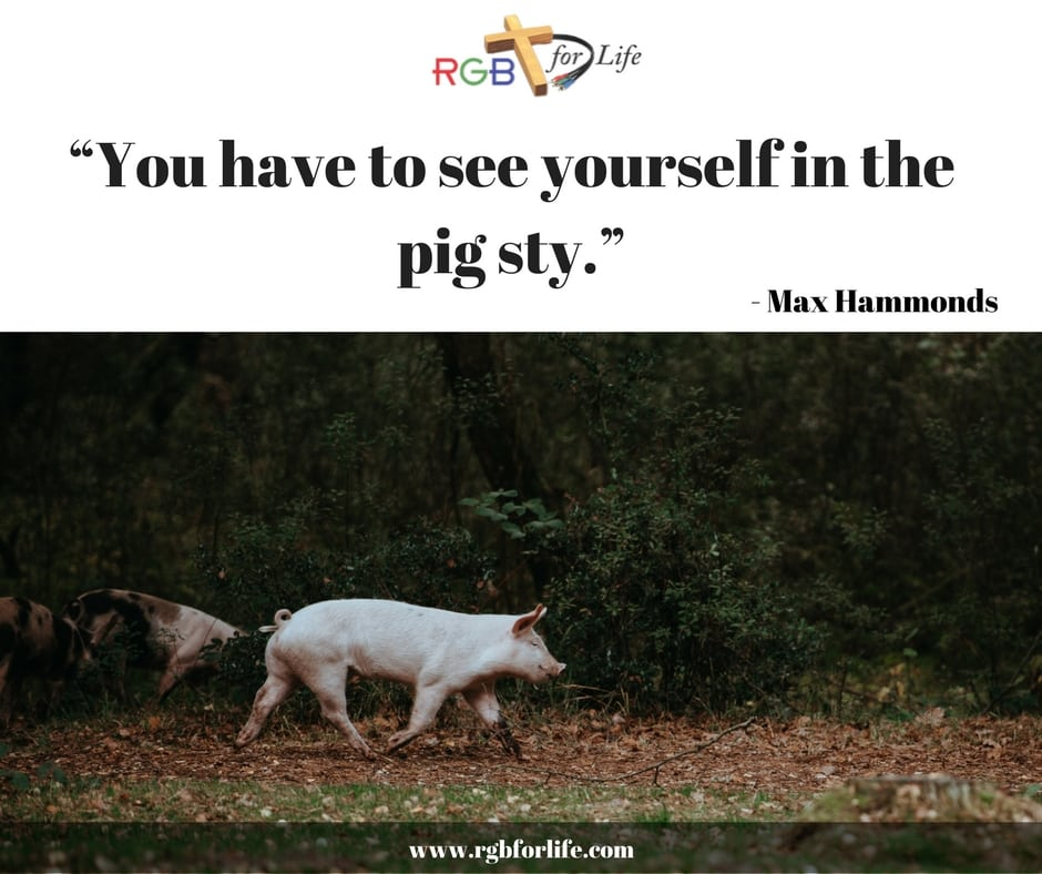 "RGB4Life - ""You have to see yourself in the pig sty."""