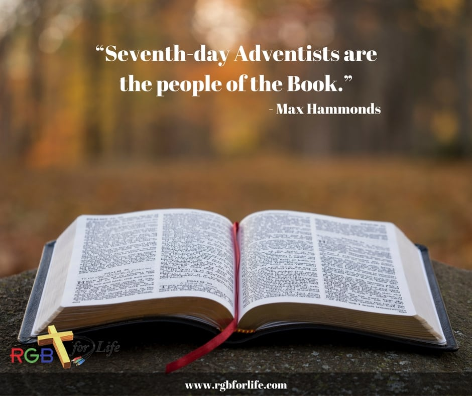 RGB4life - Seventh-day Adventists are the people of the Book.