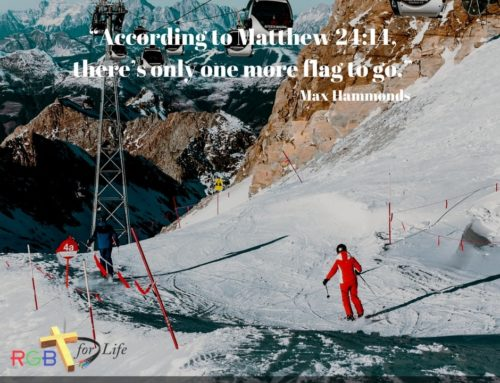 """""""According to Matthew 24:14, there's only one more flag to go."""""""