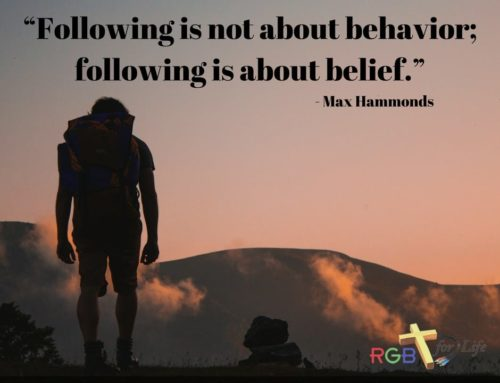 """""""Following is not about behavior; following is about belief."""""""